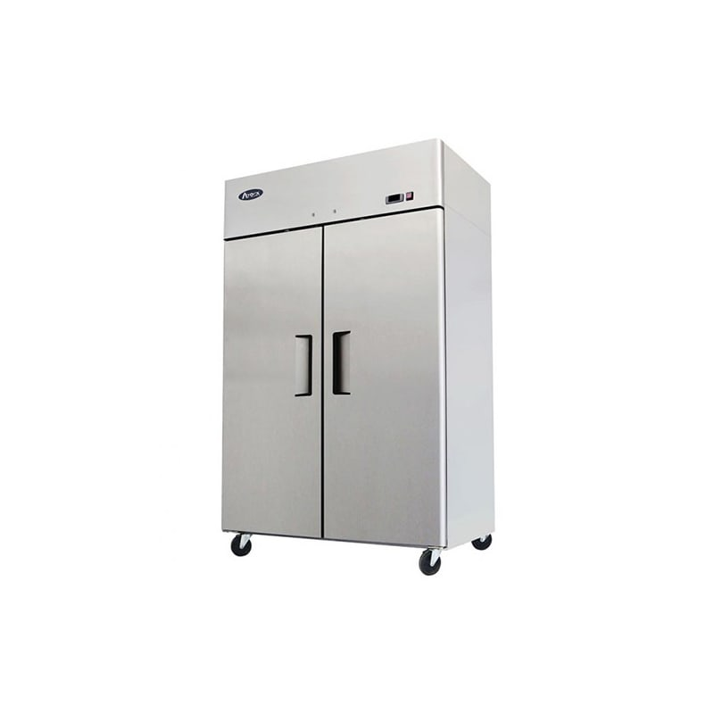 Atosa MBF8002 Top Mounted Two Swing Door Freezer Unit