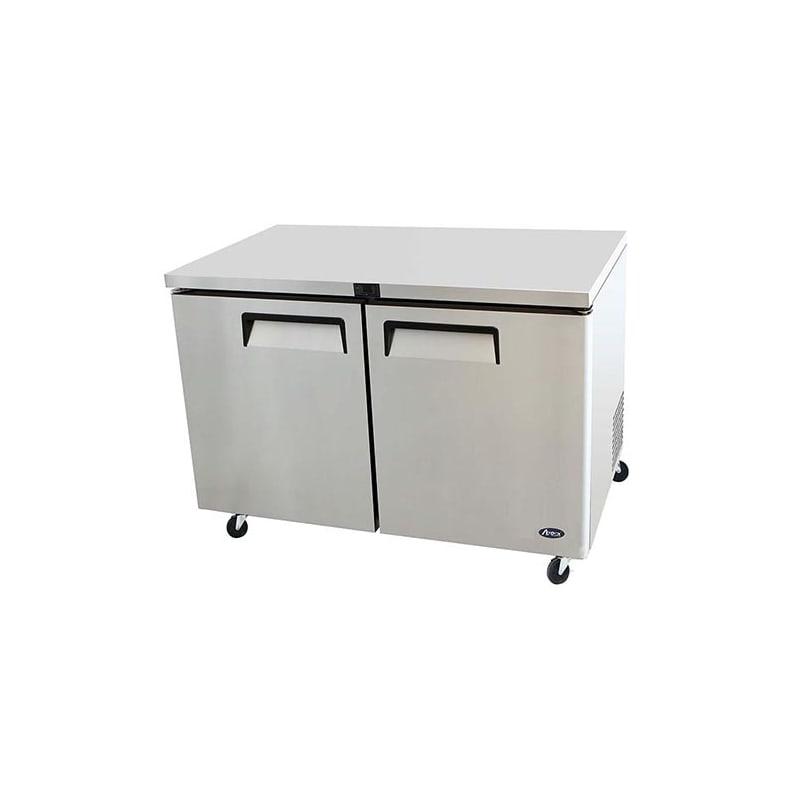 Atosa MGF8402 48 Undercounter Two Door Refrigerator