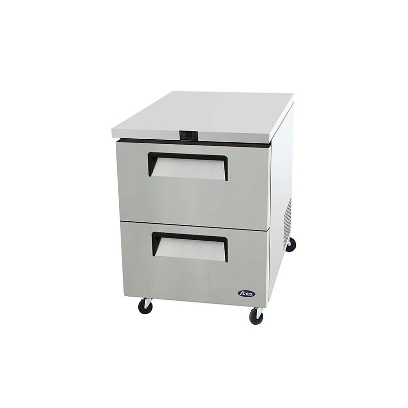 Atosa MGF8415 27 Two Drawer Undercounter Refrigerator