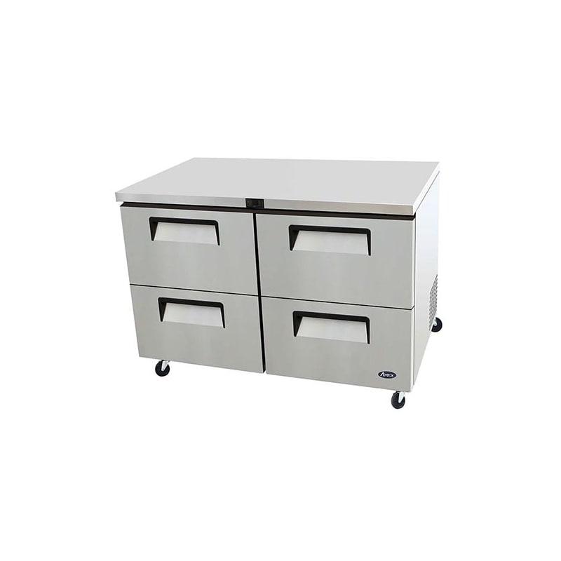 Atosa MGF8417 48 Four Drawer Undercounter Refrigerator