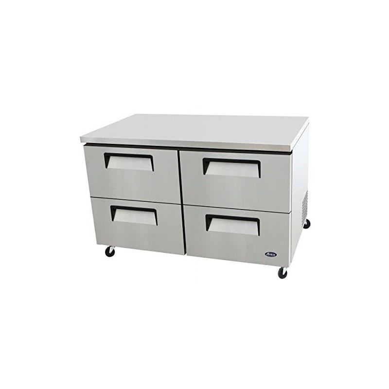Atosa MGF8419 60 Four Drawer Undercounter Refrigerator