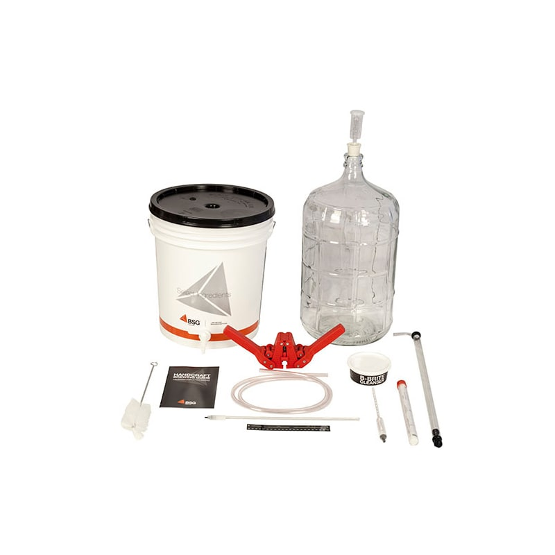 BSG HandCraft K6 Gold Beer Equipment Kit with 6 Gallon GlaCarboy