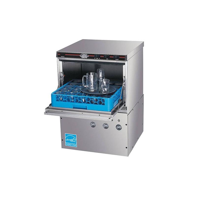 CMA Dishmachines GL-X Chemical Sanitizing Glasswasher