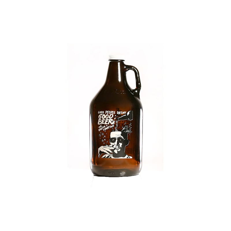 Haus of Growlers HG-HT19 Thompson Quote Growler 64 oz