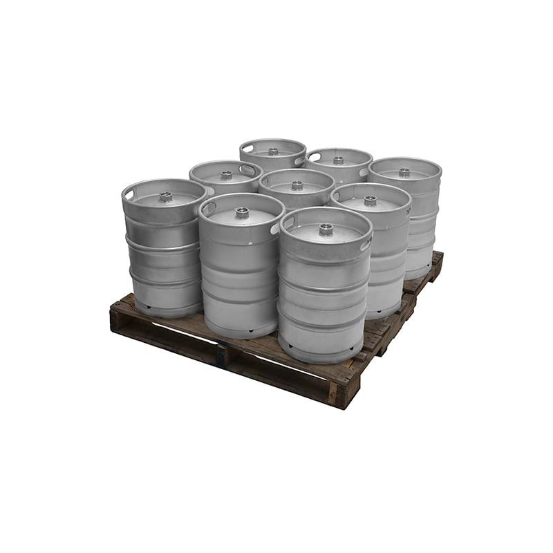 Kegerator.com KEG12STD-9 Full Size 1/2 Barrel 15.5 Gallon Commercial D System Ke