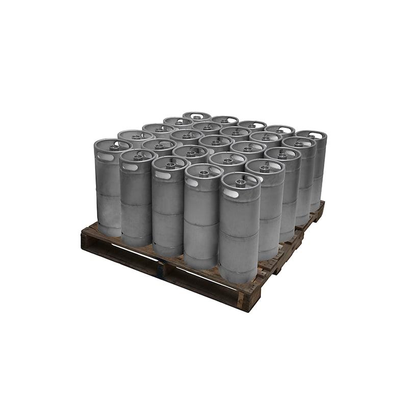 Kegerator.com KEG16STD-25 1/6 Barrel 5 Gallon Commercial D System Keg Set of 25