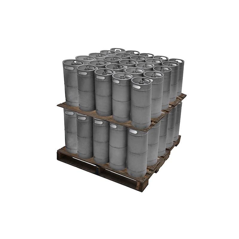 Kegerator.com KEG16STD-50 1/6 Barrel 5 Gallon Commercial D System Keg Set of 50