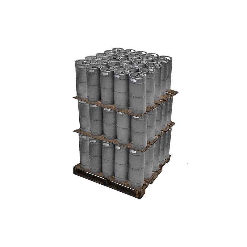 Kegerator.com KEG16STD-75 1/6 Barrel 5 Gallon Commercial D System Keg Set of 75
