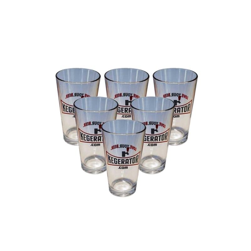 Kegerator.com PINT1SET6 Pint Glasses Set of 6
