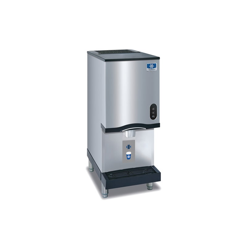 Manitowoc RNS-12AT Countertop Nugget Ice and Water Dispenser- 12 lb Bin with Sen