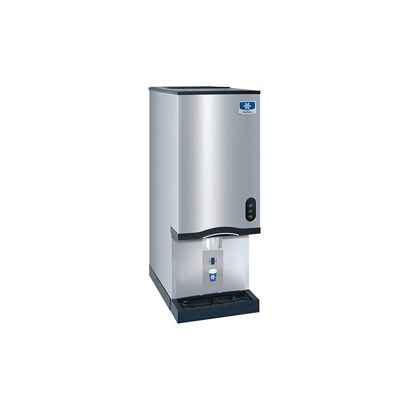 Manitowoc RNS-20AT Countertop Nugget Ice and Water Dispenser- 20 lb Bin with Sen