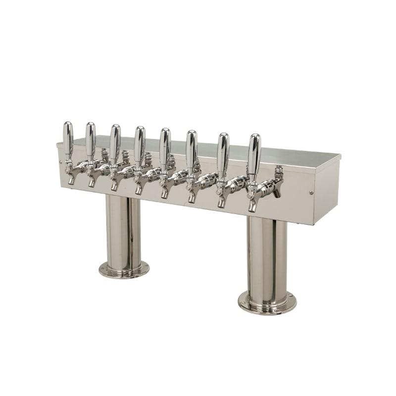 Micromatic DPT48 Double Pedistal - 8 Faucets