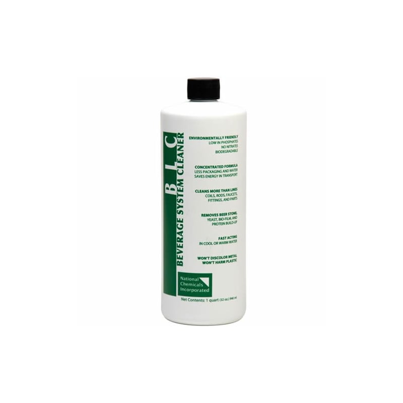 National Chemicals 31002 BLC Beverage System Cleaner