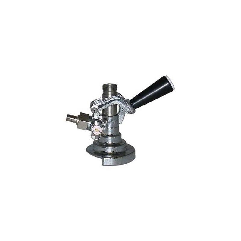 TapRite CH5400A A System German Keg Beer Coupler for Warsteiner / Paulaner / Spa